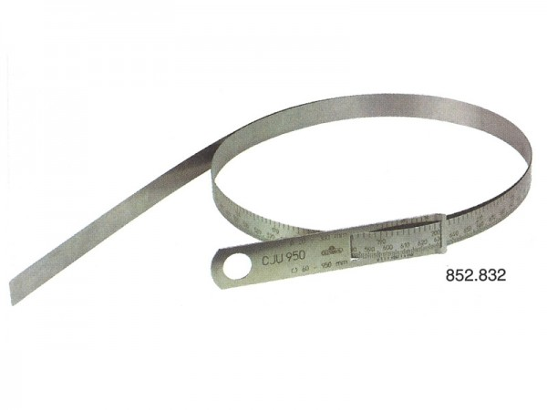 Obvodová měřící páska Ø 20-300 mm ocel