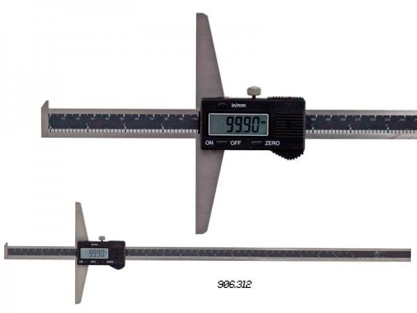 Digital depth caliper with hook 500/0,01 mm