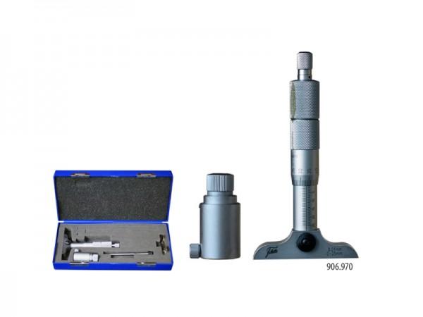 Mikrometrický hloubkoměr 0-25/63 mm