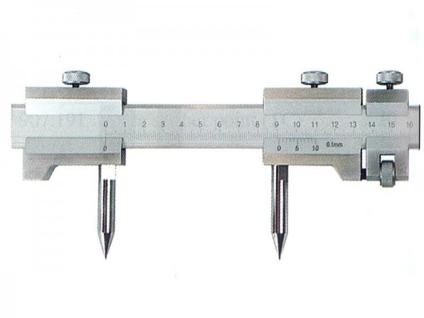 Trammel with fine adjustment 1500 mm