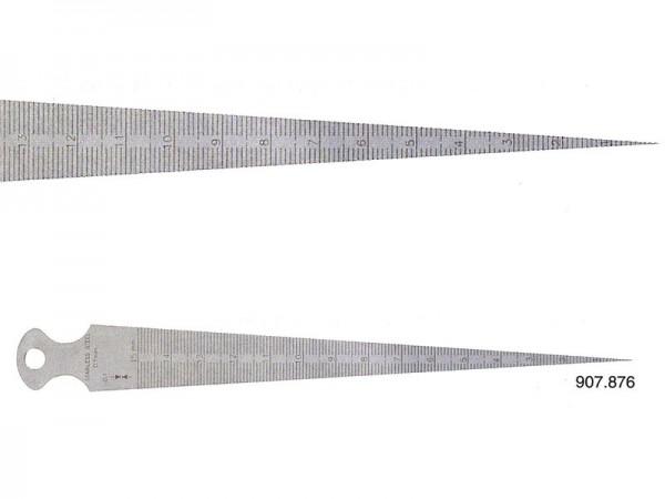 Plochý měřící klín 1-15/0,1 mm
