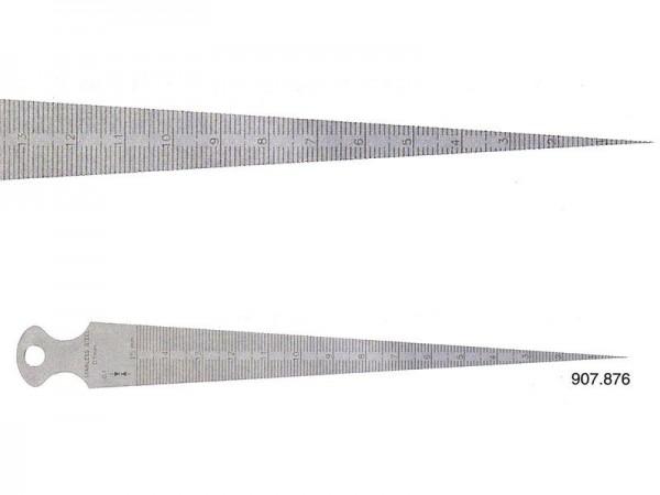 Plochý měřící klín 30-45/0,1 mm