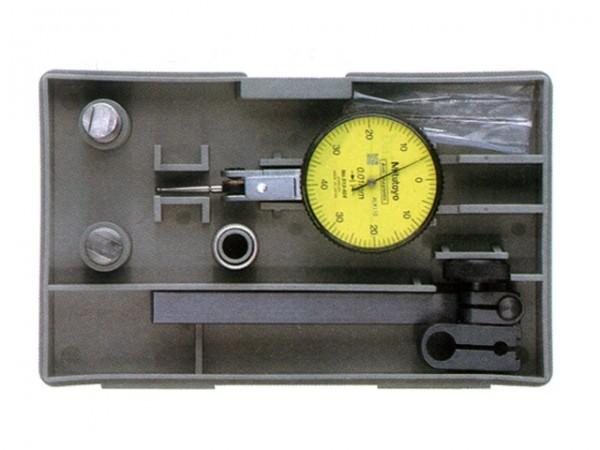 Sada páčkový indikátor  513.403 s nástavci a držákem 0-40-0 / 0,01 mm