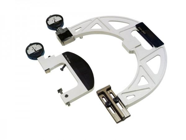 Comparator snap gauge, adjustable 200-250
