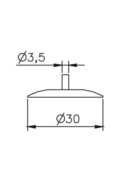 Výměnný dotek Ø3,5/30mm