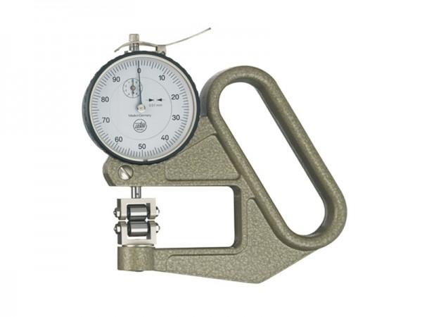 Tloušťkoměr válečkové doteky-disk 0-5/0,01/50mm