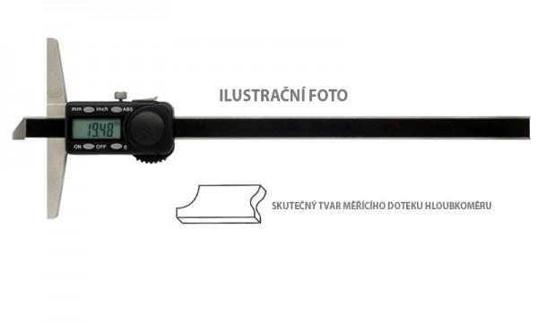Digitální hloubkoměr se zkosením 300x150/0,01mm