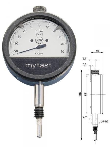 Indikátor MYTAS 62/0,1x0,001 mm