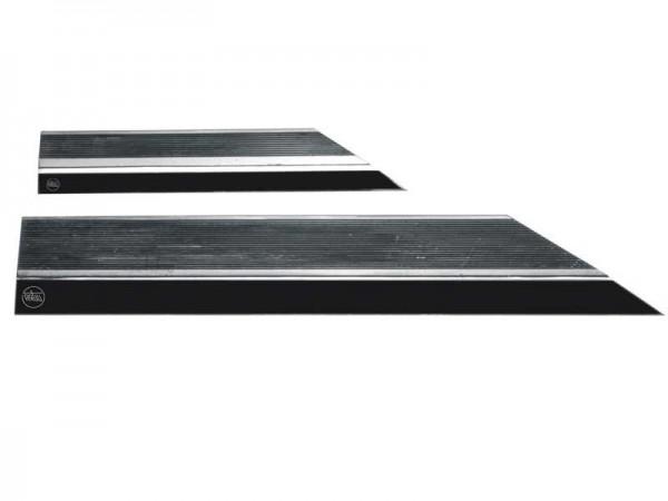 Knife straightedges, matt stainless steel 500