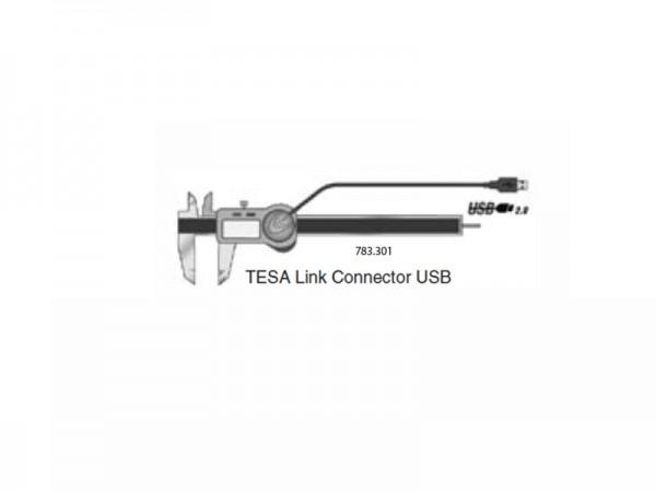 Datový výstup koncovka USB TESA TWIN-Cal