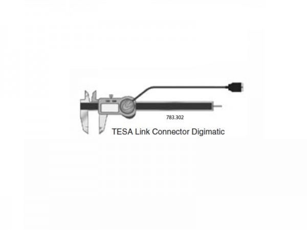 Datový výstup koncovka Digimatic TESA TWIN-Cal