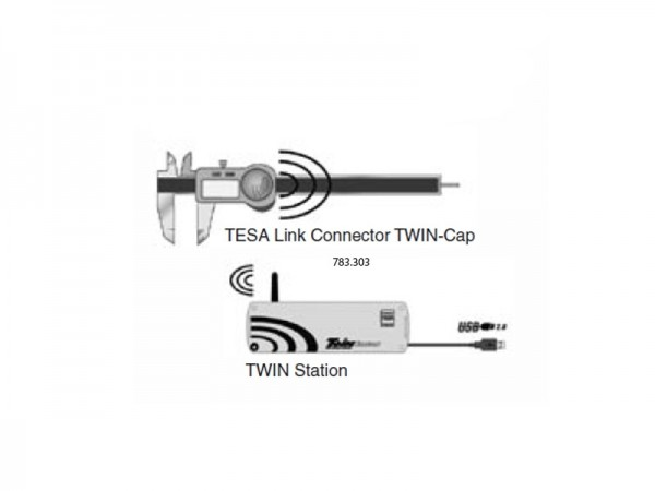 TESA Link Connector TWIN-Cap
