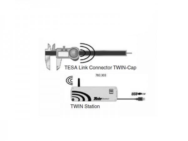 Datový výstup TWIN-Cap koncovka USB TESA TWIN-Cal