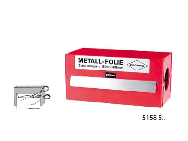 Podkládací fólie 0,25 mm speciální ocel