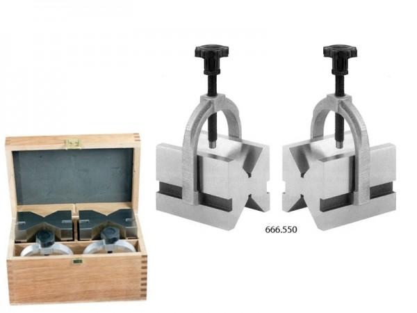 Prizmatické podložky v páru 100x75x75/7-70 mm