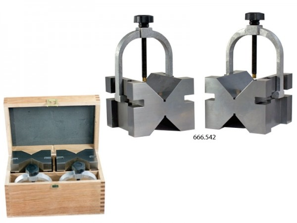 Prizmatické podložky v páru 100x96x75/7-70 mm