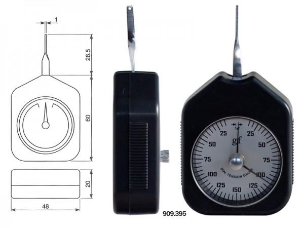 Ruční páčkový siloměr 0,01-0,1 N