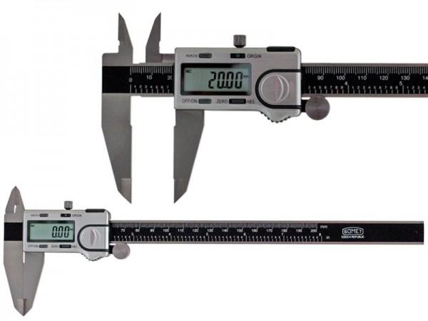 Digitální posuvné měřítko SOMET 0-200/0,01 mm, ABS, IP40
