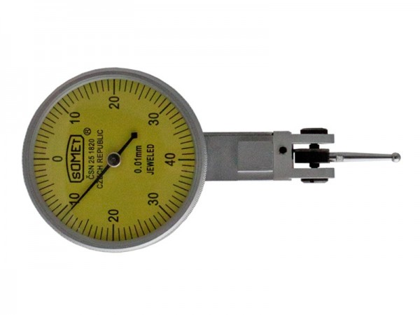 Lever typee Dial indicator Horizontal 40/0,8x0,01 mm