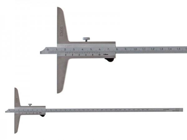 Hloubkoměr SOMET se zkosením 0-300/0,05 mm