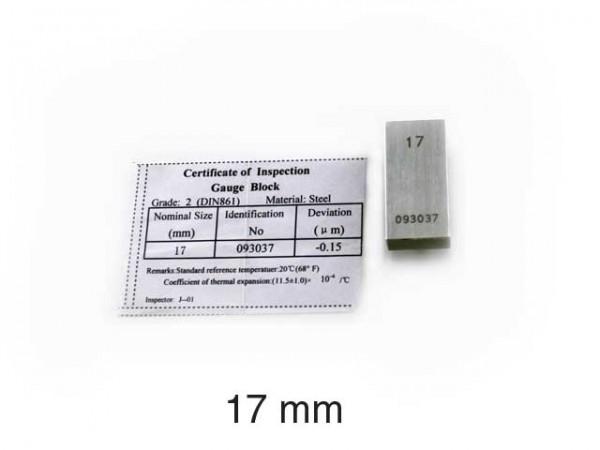 Steel gauge block 11 mm/2