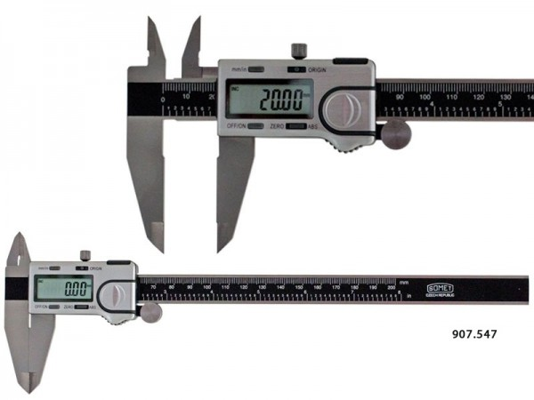 Digital Caliper SOMET 0-150/0,01 mm, ABS IP40