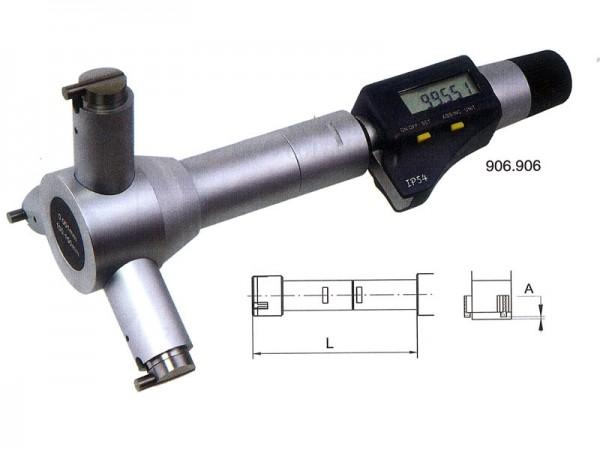 Digitální tříbodový dutinový mikrometr 70-100 mm