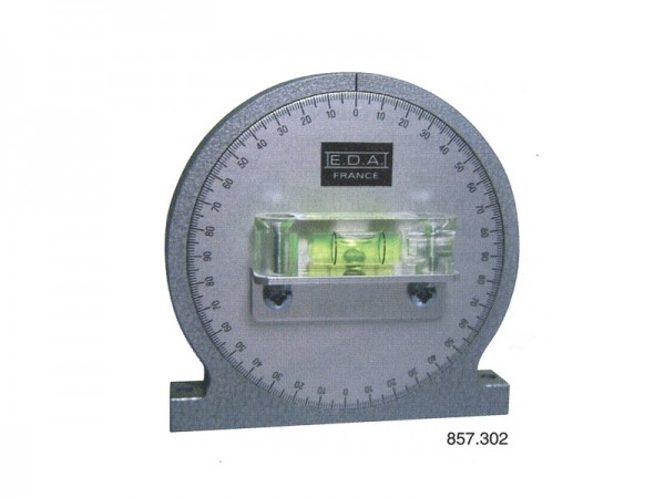 Clinometer 4x90 ° with removable base 100mm