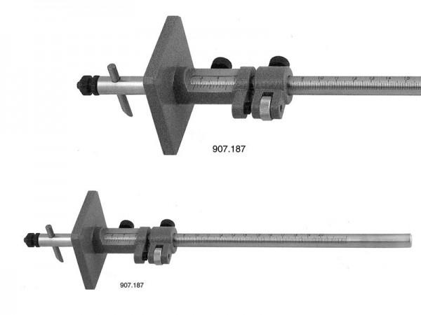 Marking gauge with fine adjustment 0-500 mm