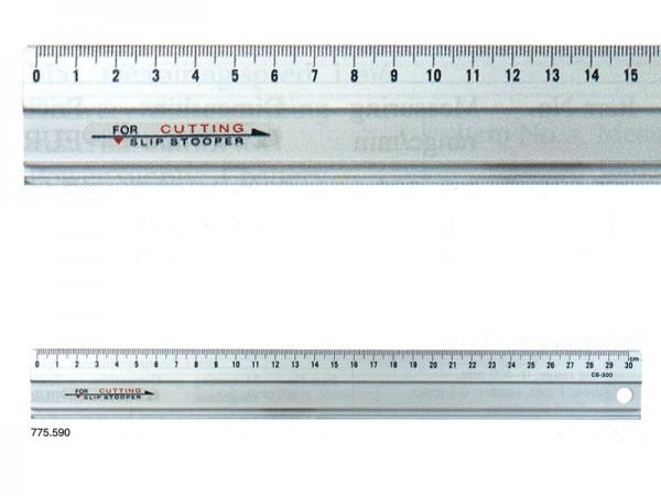 Hliníkové pravítko 300x35x1,5 mm