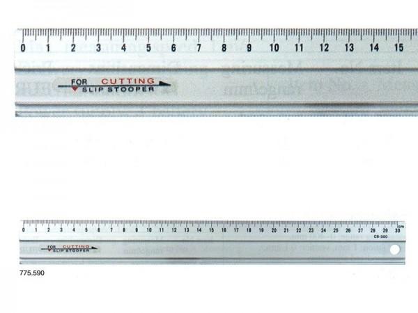 Hliníkové pravítko 600x35x1,5 mm