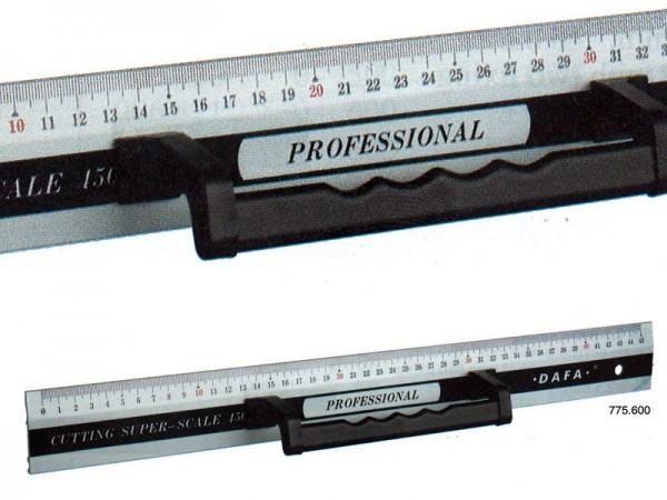 Hliníkové pravítko s madlem a magnetem 1000x50x3 mm