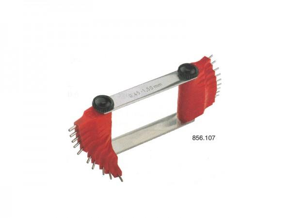Nozzle gauges Ø 1,5 – 3 mm 16 pins