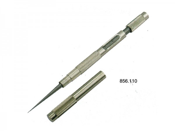 Měrka na trysky Ø 0-5 mm se stupnicí
