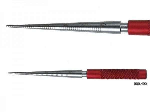 Conical plug gauge Ø 1-6/0,1mm