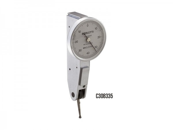 Antimagnetic Lever type Dial indicator 28/0,8x0,01 mm