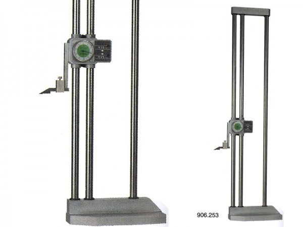 Height gauge with Dial Indicator 2-columns 600/0.01 mm
