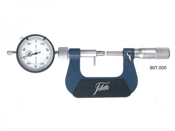 mikrometr s úchylkoměrem pro sériová měření 125-150 mm