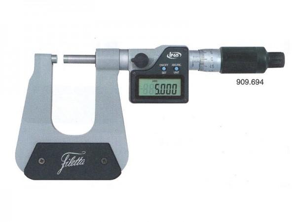 Deep throat micrometer 100 mm 0-25 mm