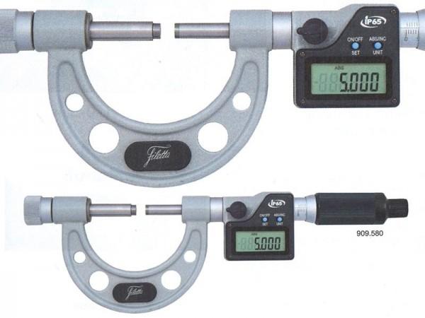 Digital micrometers IP65 with a large measuring range 200-300 mm