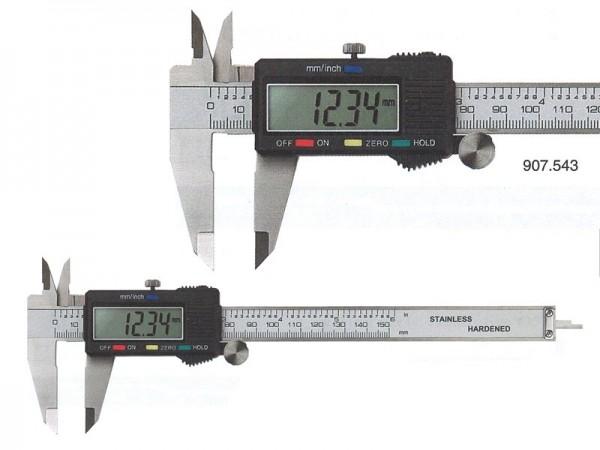Digitální posuvné měřítko s funkcí HOLD 0-150