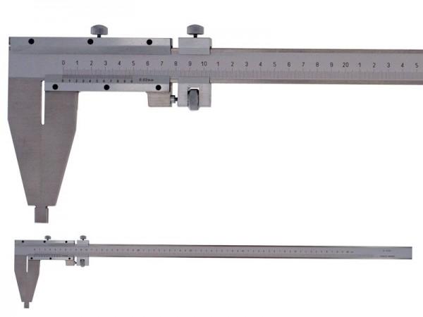 Analog workshop caliper 0-1000 mm