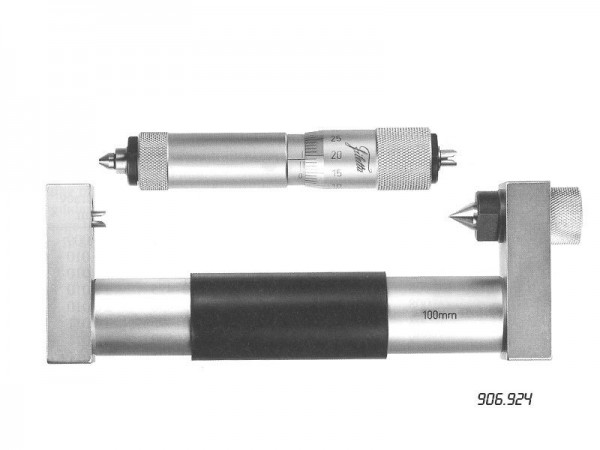 Inside micrometer with interchangeable anvils 200-225 mm
