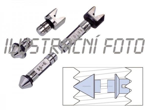 Měřicí vložky M 1,0-1,75 mm