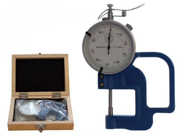 Tloušťkoměr 0-10 mm/hloubka hrdla 30 mm