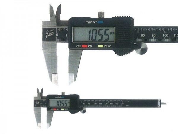 Digital Caliper 0-150 mm, large LCD with 3 button