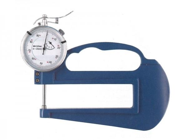 Tloušťkoměr 0-20 mm/hloubka hrdla 100 mm