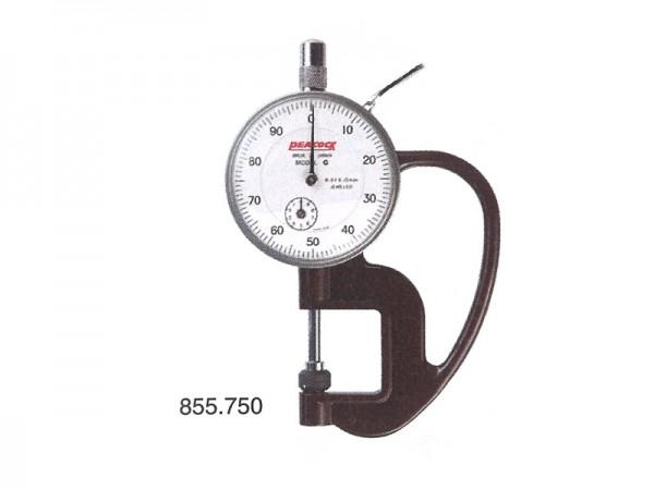 Tloušťkoměr 0-10 mm/hloubka hrdla 20 mm