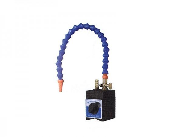 Magnetická základna s 1-pružnou hadicí pro chlazení
