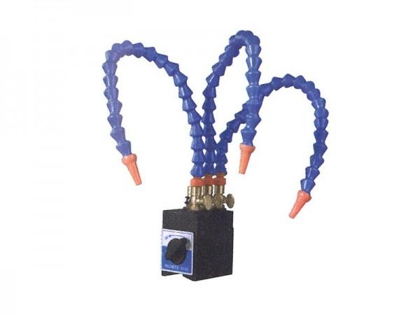 Magnetická základna s 3-pružnou hadicí pro chlazení